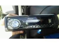 Pioneer USB aux car stereo