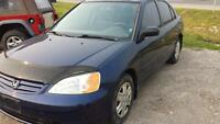 2003 Honda Civic 5 speed - Sedan - Low km ! 194km