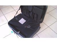 Genuine Audi business shoulder bag, trolley bag, and suitcase set