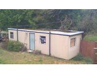 Portacabin 32 x 10 Jack leg Portable Office / Building - Lockable with Lighting