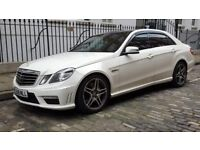 Mercedes-Benz E63 AMG 6.2 , White, Fully Loaded, Audi RS5 Golf R RS3 S3 M3 C63 AMG BMW M5 PX