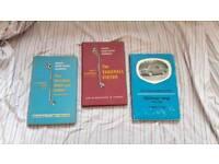 Three car Hand manuals