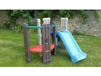 little tikes seek and explore climbing frame,playhouse,slide etc