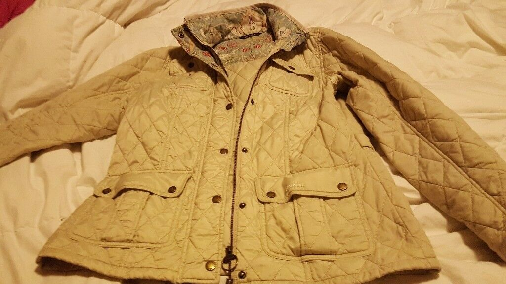 Ladies genuine barbour jacket size 14