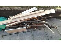 Free scrap wood, suitable for woodburner