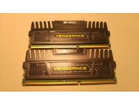 Corsair Vengeance PC Memory 8GB 2x4GB DDR3 1600MHz