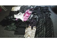 ladies going out /clubbing clothes bundle size 10-12