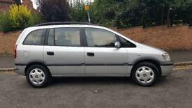 Vauxhall Zafira 1.8i comfort 5dr