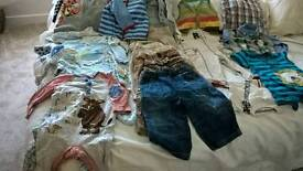 Baby boy clothing 9-12 months