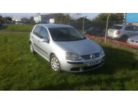VW Golf mk5 1.6 FSI SE 12 Months MOT 6 speed Cruise control AC low miles Electric windows AUX