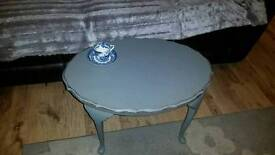 Shabby chic solid oak vintage coffee table