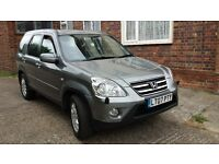 HONDA CR-V 2,2 CDTI SPORT 07 PLATE 2007 1 OWNER FROM NEW SATALITE NAVIGATION IMMACULATE