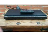 Sony, dvd player with remote control, hdmi port