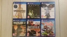 Ps4 games bundle.