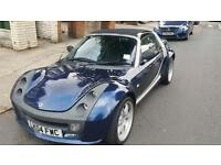 Smart Roadster Bluewave Brabus offers welcome