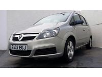 2007 │Vauxhall Zafira 1.6 i 16v Club │LOW MILEAGE │FULL VAUXHALL SERVICE HISTORY │2 FORMER KEEPERS │