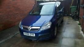 Vauxhall zafira 1.9 cdti 120