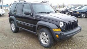 ***JEEP LIBERTY SPORT 4X4***ONLY 127KM***