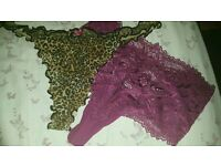 G string knickers size 16