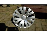 citroen wheel trim - single