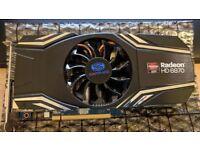 AMD Radeon Saphire HD 6870 Graphics Card