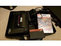 Sega Mastersystem2 with 3 games and controller