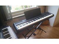 Yamaha P-105B Portable Digital Piano (+ Duronic KS2 Keyboard Stand) / PICK-UP ONLY!!!