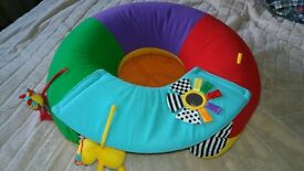 Blow up activity ring (removeable washable cover)