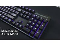SteelSeries Apex M500 Cherry MX Red Mechanical PRO Gaming Keyboard 64493...........Brand New