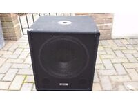"""15"""" Powered Active Sub Woofer 600 Watts"""