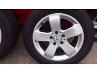 Mercedes e class Alloy wheels 255/55/16