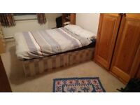 Large Double Divan Myers Bed 650 Springs RRP £799
