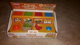 Brand new pop up toy