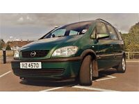 Seven seater Opel Zafira for sale. Not Sharan, Galaxy etc.