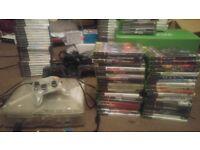 Original Crystal Xbox console + games