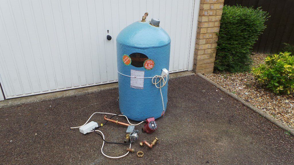 HOT WATER CYLINDER TANK - Telford Copper Cylinder 900 x 450mm ...