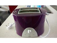 Swan 2-slice toaster - purple