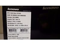 "Lenovo MIIX 3 7.85"" Tablet / laptop (80JB), very fast"