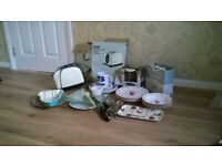kitchen items for sale see list