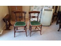 Two Small Edwardian Style Chairs