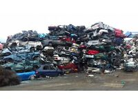 FREE SCRAP METAL CAR CAMPER VANS MOTOR BIKES REMOVALS COLLECTIONS RECOVERY SALVAGE BODY SHELLS