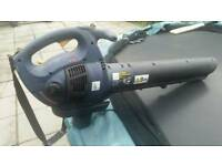 Petrol garden blower or vac 2 stroke runs well carry strap large item 24hp engine