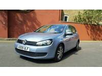 VW GOLF 2.0 TDI AUTOMATIC DSG. LOW MILEAGE WITH FULL SERVICE HISTORY
