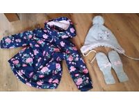 Next and H &M complet girls 12-18 months