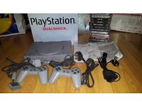 Vintage 'Like New' Sony Dualshock Playstation 1 & 22 Games Bundle