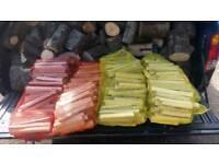 Logs seasoned