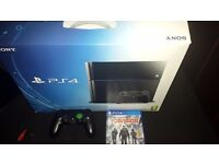Ps4 500gb mint condition scuf custom controller
