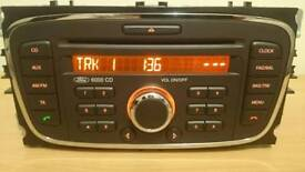 Ford Cd player with security code