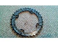 Race Face Narrow Wide Bicycle / Bike Chain Ring 36T Black