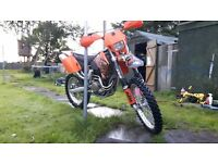 Ktm 400 exc enduro y reg (2000) mint for age